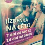 Jízdenka na léto – týdenní cestování vlakem po Česku nebo Slovensku
